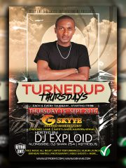 "#turnedupthursdays ""Official Launch"""