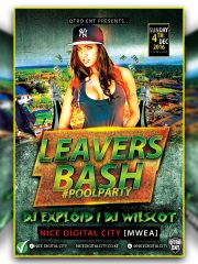 #LEAVERSPARTY #POOLPARTY 'At: Nice Digital City