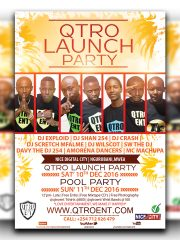 QTRO ENTERTAINMENT 'LAUNCH PARTY'